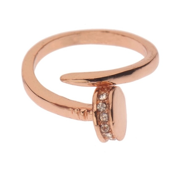 T&J Designs Jewelry - 🛍2 for $25🛍 NWT Rose Gold Nail Ring